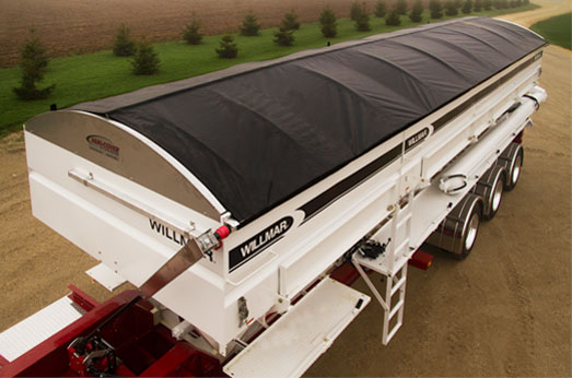 Martarp custom tarps and covers - Big highway trailer tarp system