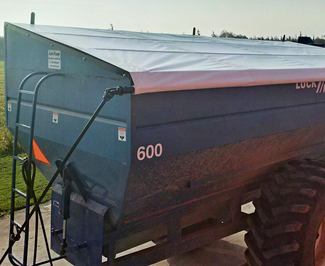 Grain buggy Roll Tarp kit 2