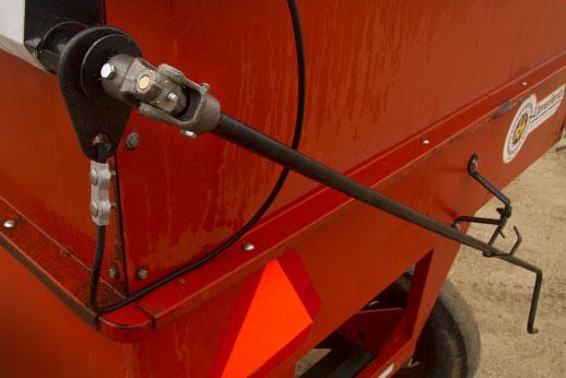 Roll tarp system crank handle
