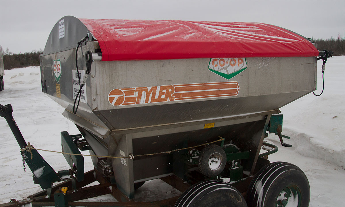 Tender Spreader Tarp and Cover Systems