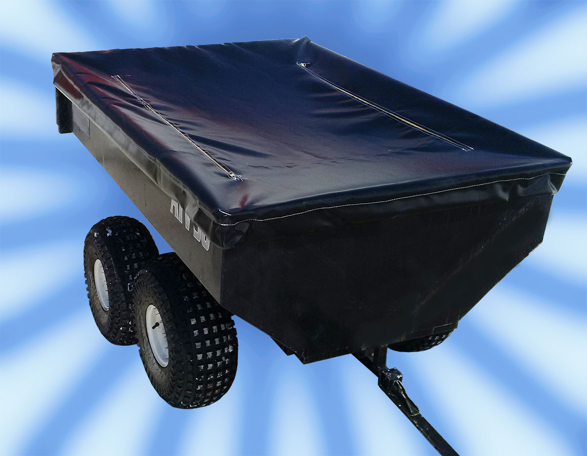 Custom tarps for utility trailers