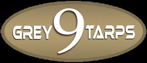 Grey 9 Tarps logo